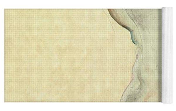 Standing Female Nude Yoga Mat