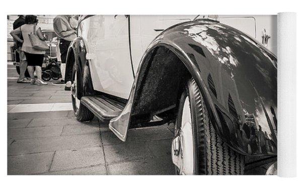 Peugeot 201  Yoga Mat by Gary Gillette