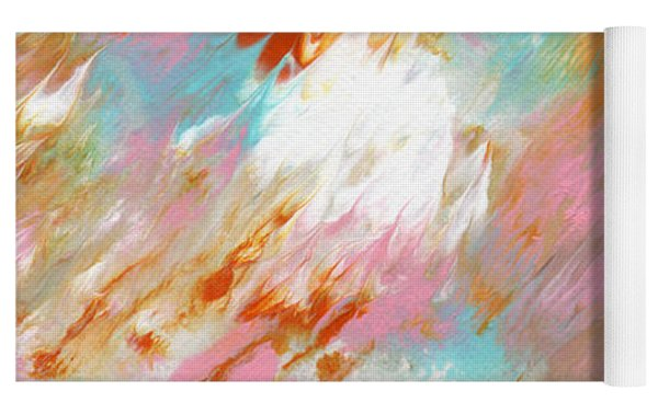 Ambrosia- Abstract Art By Linda Woods Yoga Mat by Linda Woods