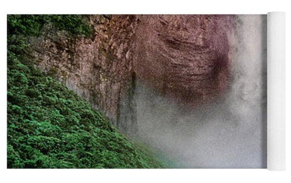 Angel Falls Canaima National Park Venezuela Yoga Mat by Dave Welling