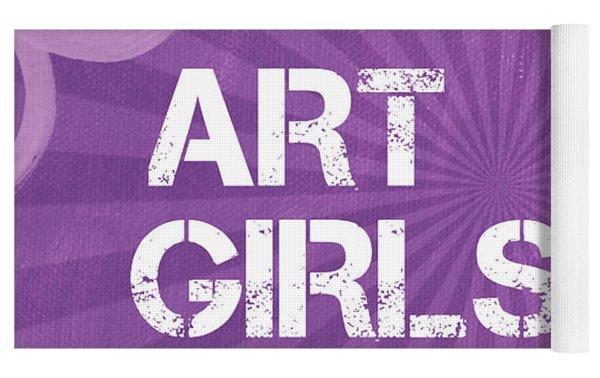 Art Girls Rock Yoga Mat