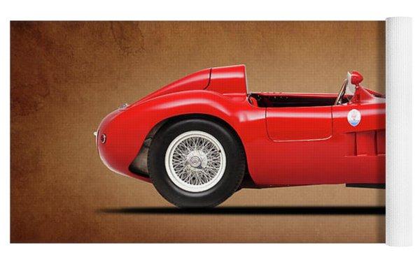 Maserati 300s 1956 Yoga Mat