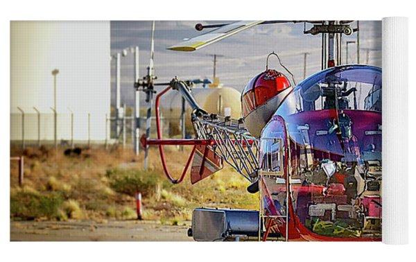 Bell 47 Yoga Mat by Jim Thompson