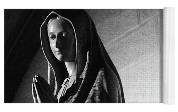 Blessed Virgin Of Fiesole Italy Yoga Mat by Matthew Wolf
