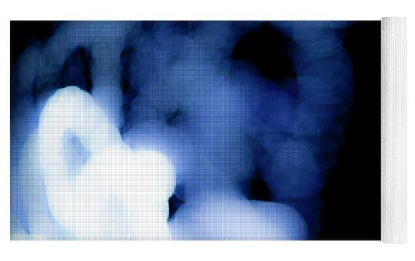 Blue Black, No.2 Yoga Mat by Eric Christopher Jackson