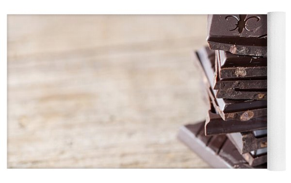 Chocolate And Chili Yoga Mat