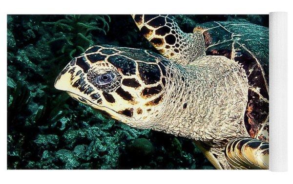 Cruising Turtle Yoga Mat
