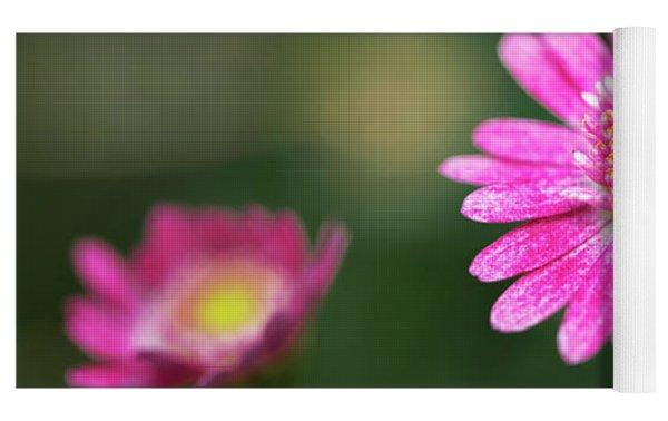 Daisy Flower Yoga Mat by Pradeep Raja Prints