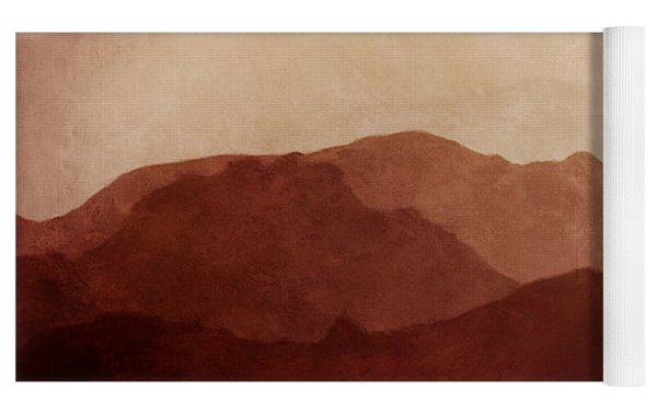 Death Valley Yoga Mat by Scott Norris