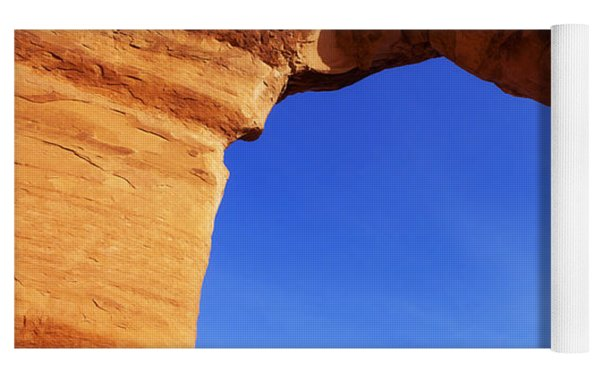 Delicate Arch Yoga Mat by Chad Dutson