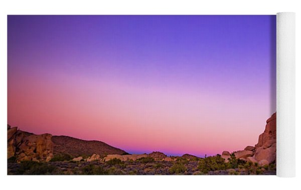 Desert Grape Rock Yoga Mat by T Brian Jones