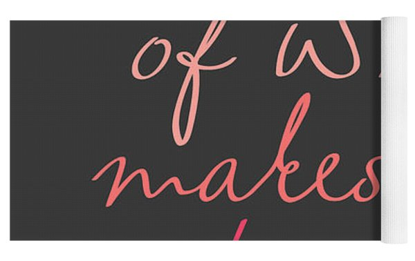 Do More Of What Makes You Happy Yoga Mat