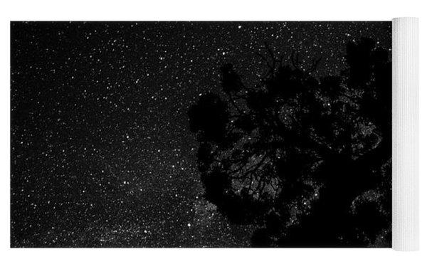 Empty Night Tree Yoga Mat by T Brian Jones