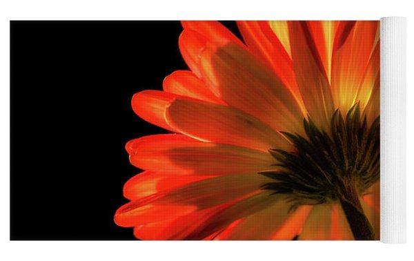 Fire Flower Yoga Mat by Mary Jo Allen