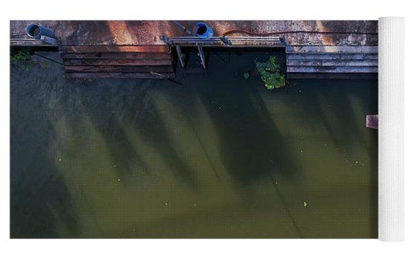 Floating Market Aerial View Yoga Mat by Pradeep Raja PRINTS