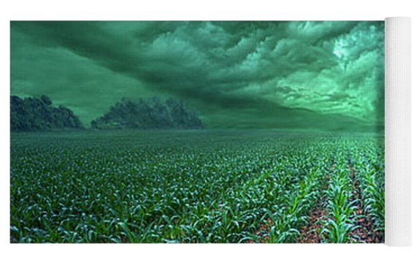 From Beginning To End Yoga Mat by Phil Koch