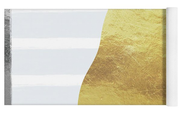 Gold  Pear - Art By Linda Woods Yoga Mat by Linda Woods