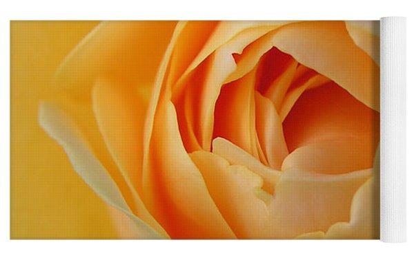 Graham Thomas Old Fashioned Rose Yoga Mat by Jocelyn Friis