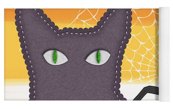 Halloween Friends- Art By Linda Woods Yoga Mat