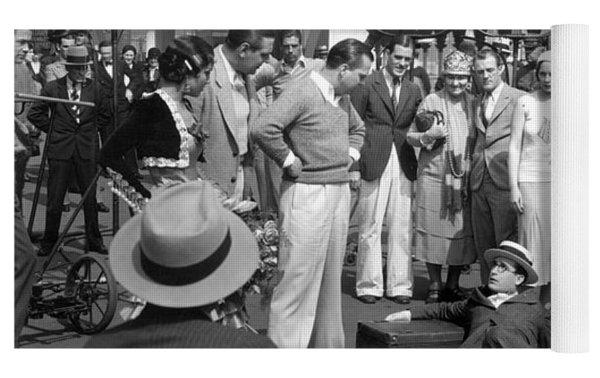 Harold Lloyd (1893-1971) Yoga Mat