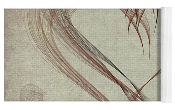 Heartful Yoga Mat by Marian Palucci-Lonzetta