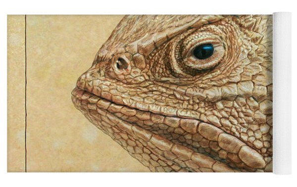Horned Toad Yoga Mat
