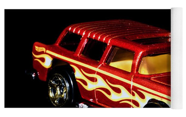 Hot Wheels '55 Chevy Nomad 2 Yoga Mat by James Sage