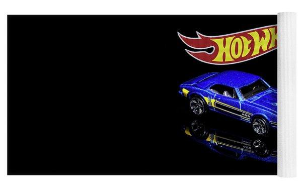 Hot Wheels '67 Pontiac Firebird 400-2 Yoga Mat by James Sage