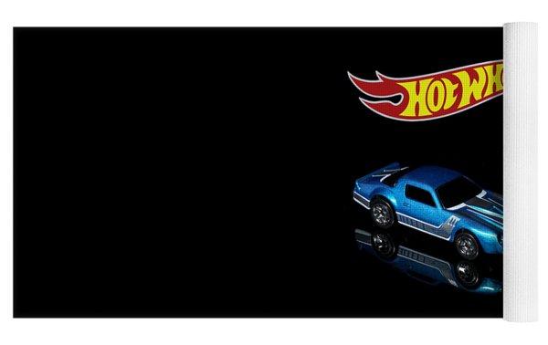 Hot Wheels 67 Pontiac Firebird 400-3 Yoga Mat by James Sage