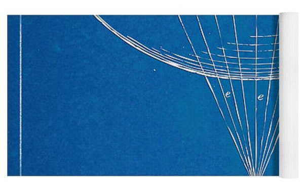 Icarus Airborn Patent Artwork Yoga Mat
