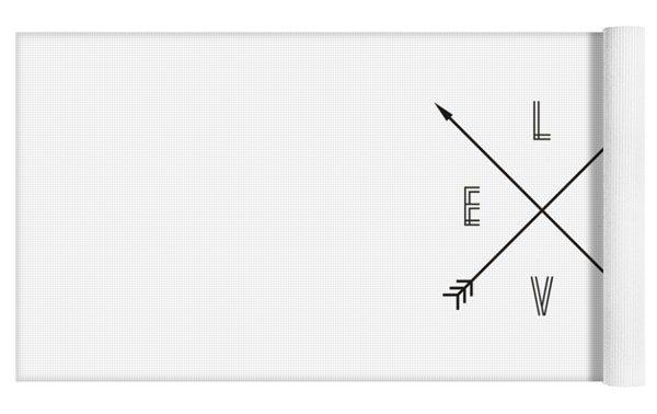 Love Compass Yoga Mat