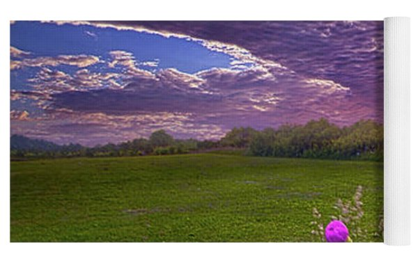 Lucky Charms Yoga Mat by Phil Koch