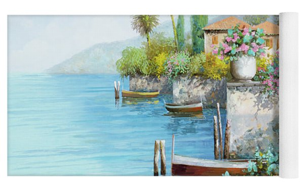 Lungolago Yoga Mat by Guido Borelli