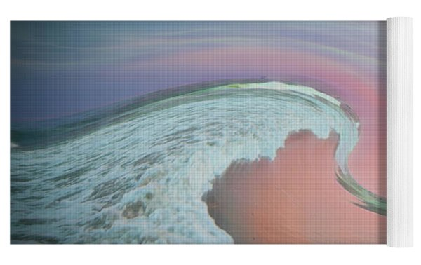 Magical Beach Sunset Yoga Mat by Beth Sawickie