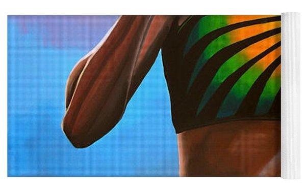 Merlene Ottey Yoga Mat