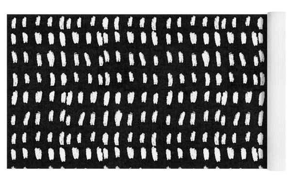 Mud Cloth 8- Art By Linda Woods Yoga Mat by Linda Woods