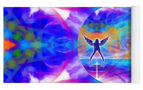 Mystic Universe 15 Kk2 Yoga Mat by Derek Gedney