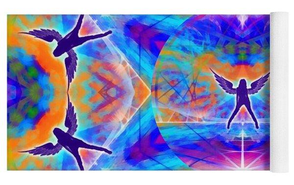 Mystic Universe Kk 15 Yoga Mat by Derek Gedney