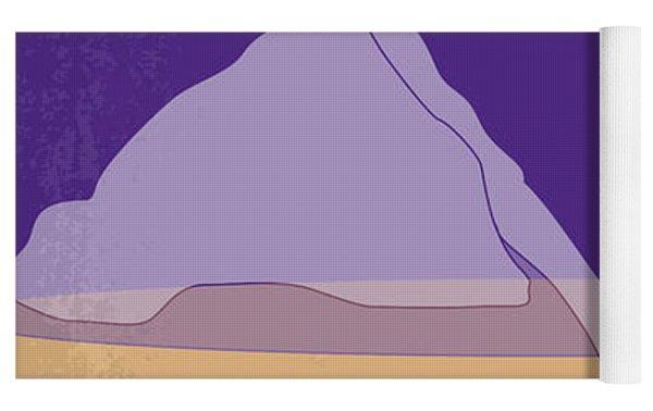 No180 My Leaving Las Vegas Minimal Movie Poster Yoga Mat by Chungkong Art