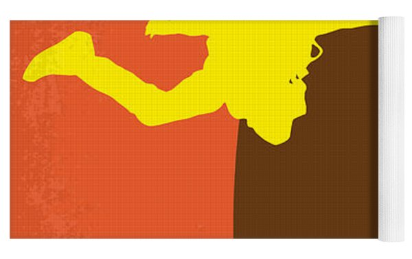 No455 My Point Break Minimal Movie Poster Yoga Mat by Chungkong Art