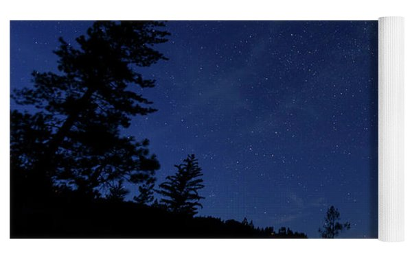 Perseids Meteor Shower 1 Yoga Mat by Jim Thompson