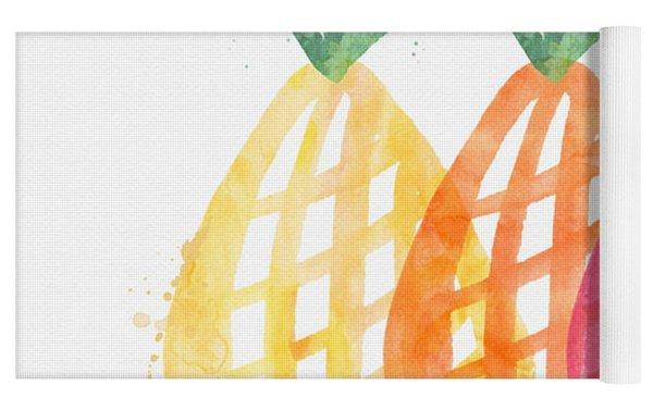 Pineapple Trio Yoga Mat