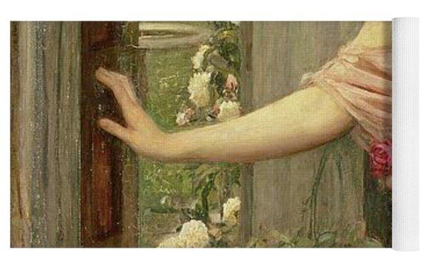 Psyche Entering Cupid's Garden Yoga Mat
