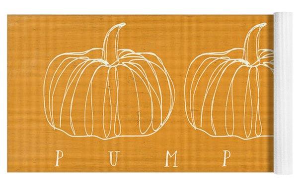 Pumpkins- Art By Linda Woods Yoga Mat