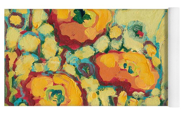Reminiscing On A Summer Day Yoga Mat by Jennifer Lommers