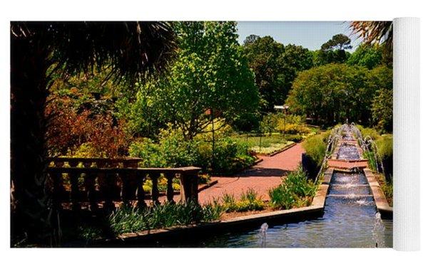 Botanical Gardens Yoga Mat by Lisa Wooten