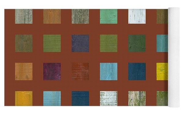 Rustic Wooden Abstract Vll Yoga Mat