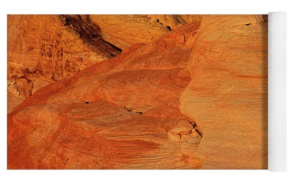Sandstone Formations In Valley Of Fire State Park Nevada Yoga Mat by Dave Welling