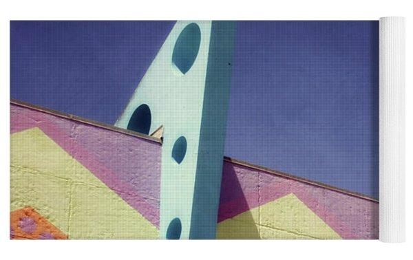 Santa Cruz Boardwalk - Photography  By Linda Woods Yoga Mat