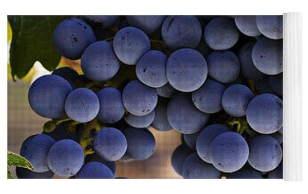 Sauvignon Grapes Yoga Mat